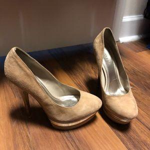 Tan heels from Bakers